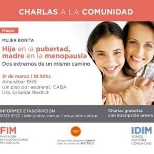 IDIM – Charla abierta y gratuita a la comunidad