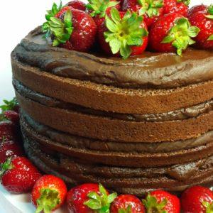 Naked Cake: La torta desnuda y de temporada, por El Mundo de Loli