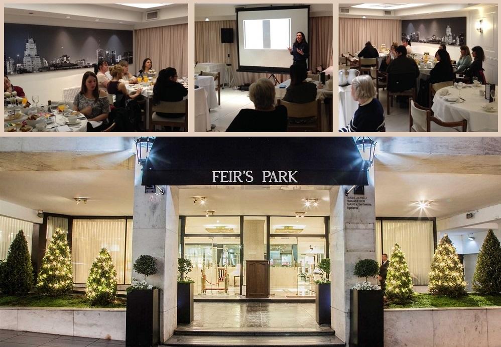 Exitosa  y atractiva  Masterclass de Grafología en Feir´s Park Hotel