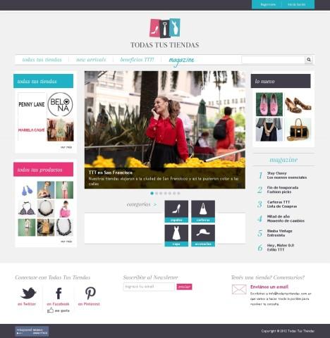Todas Tus Tiendas: una guía online de tiendas para que encuentres todo lo que buscas