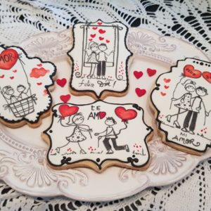 El Mundo de Loli propone regalar cookies temáticas para San Valentín