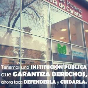 Piden renuncia de Directoras de la Maternidad Carlotto por «cuestiones políticas»