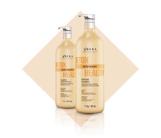 Detox Healthy, el tratamiento profesional de Ybera París que purifica la raíz grasa e hidrata las puntas