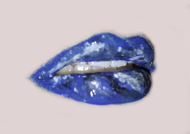 Los labios de mármol la última moda en maquillaje