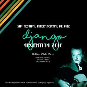 XIVº Festival Internacional de Jazz Django Argentina 2016