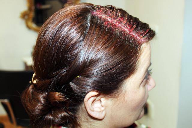 Glitter Roots, ¡tu pelo brillará en Navidad con las raíces de purpurina by Alma Luzón!