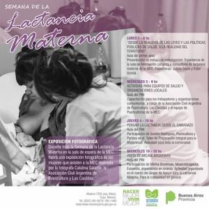 Semana Mundial de la Lactancia Materna en la MEC