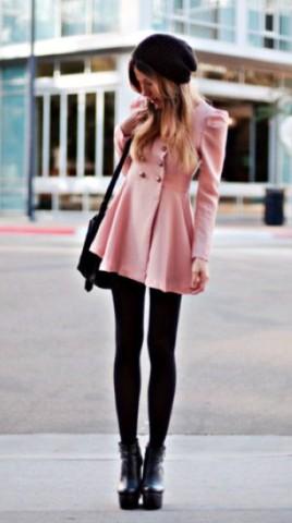 Como llevar vestidos de fiesta en los días fríos.